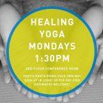 Healing Yoga 1:30PM - 2:30PM on Mondays in November